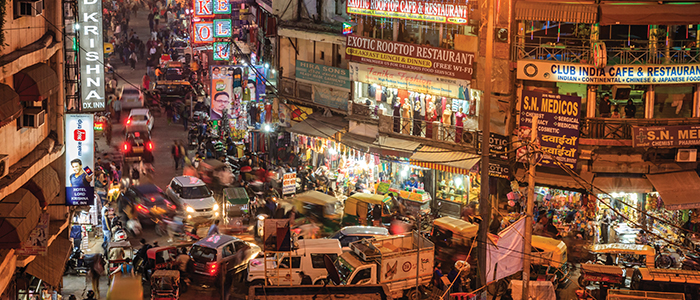 Intelligente Städte: Neu-Delhi, Indien