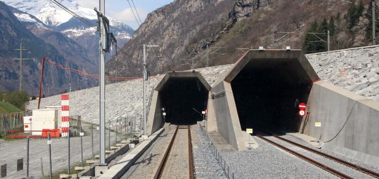 Gotthard Basistunnel: Sicher durch Videoüberwachung im weltweit längsten Tunnel. Bild SBB