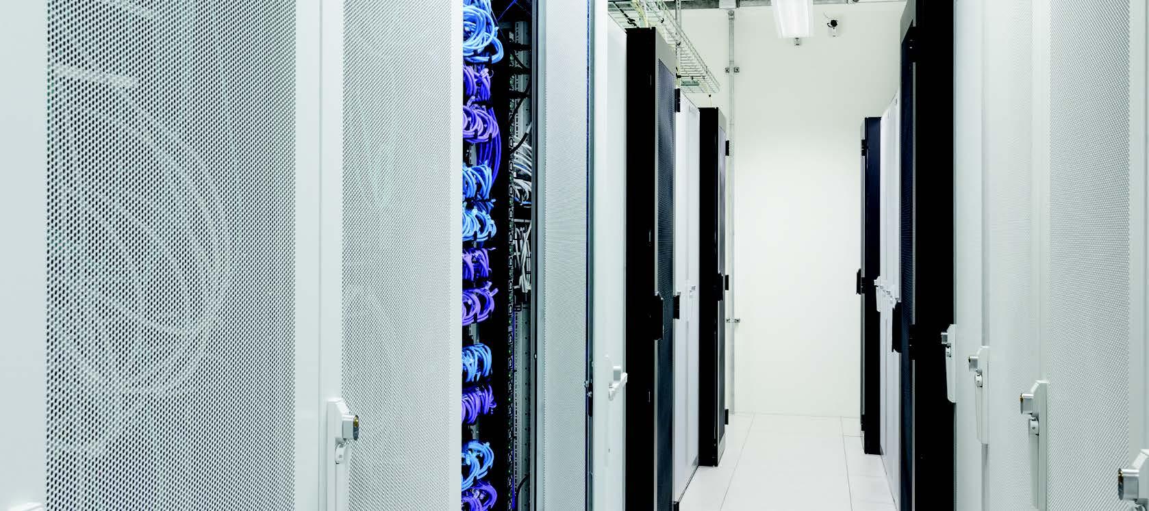 Sicheres Rechenzentrum - Technologien zum Schutz