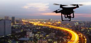 Erkennung von Drohnen mit Netzwerk-Kameras