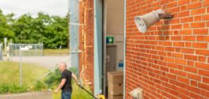 Überwachungssystem C3003 Verladung Netzwerk-Audio