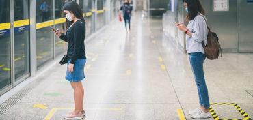 Technologie kann bei der Kontrolle über die Einhaltung der Schutzmaßnahmen helfen.