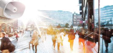 4 Wege, wie Audio zu einer smarten und sicheren Stadt beitragen kann