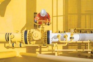 Oil & gas protegido y seguro