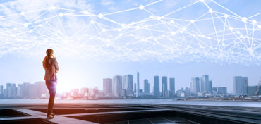 Smart city driven by data network