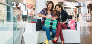 Customer experience with ladies in shopping mall