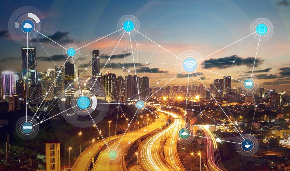 smart city and wireless communication, network