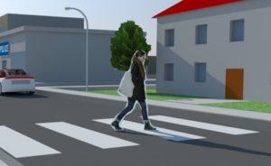 safe city pedestran