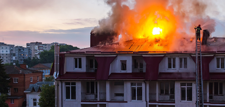 Surveillance cameras help fight fires