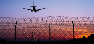 airport perimeter security network cameras