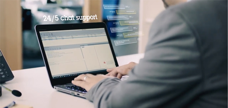 Technical Service, chat support
