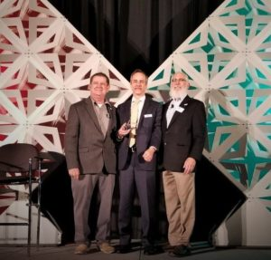 Axis Communications stands with GSX Innovative Product of the Year Award at GSX 2018