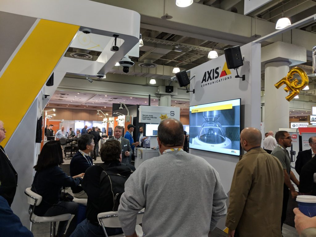 Axis booth presentation - ISC East