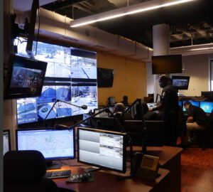 Vitória's integrated Surveillance and Operations Center