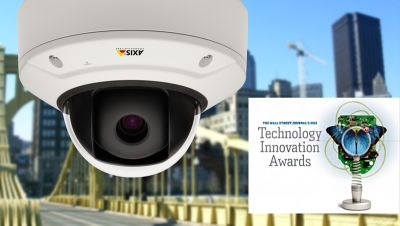 AXIS Q3505-V Network Camera and Wall Street Journal Technology Innovation Award