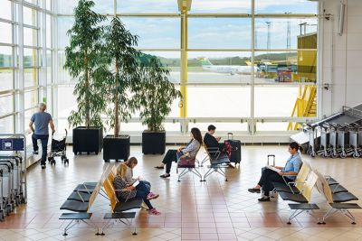 Malmö Airport, Waiting area
