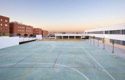 School exterior playground