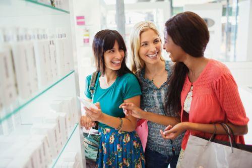 Women drug store
