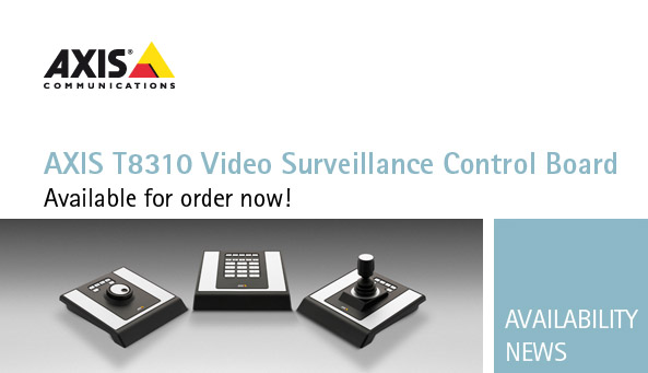 Axis T8310 series video surveillance control devices