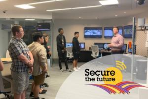 Axis Communications Secure the Future technology tour
