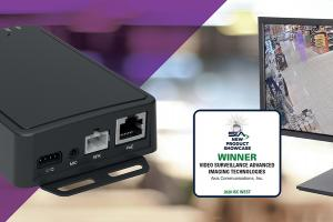 AXIS Live Privacy Shield and AXIS C8210 Network Audio Amplifier were recognized at the Security Industry Association (SIA)'s New Product Showcase
