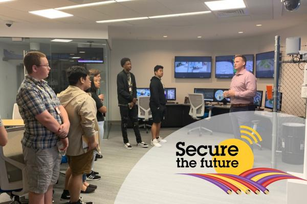 Secure the Future hands on technology tour