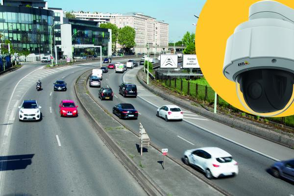 AXIS Q60 PTZ Network Camera Series with improved imaging and enhanced security features.
