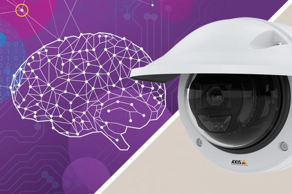 Fixed dome camera supporting powerful AI with deep learning on the edge