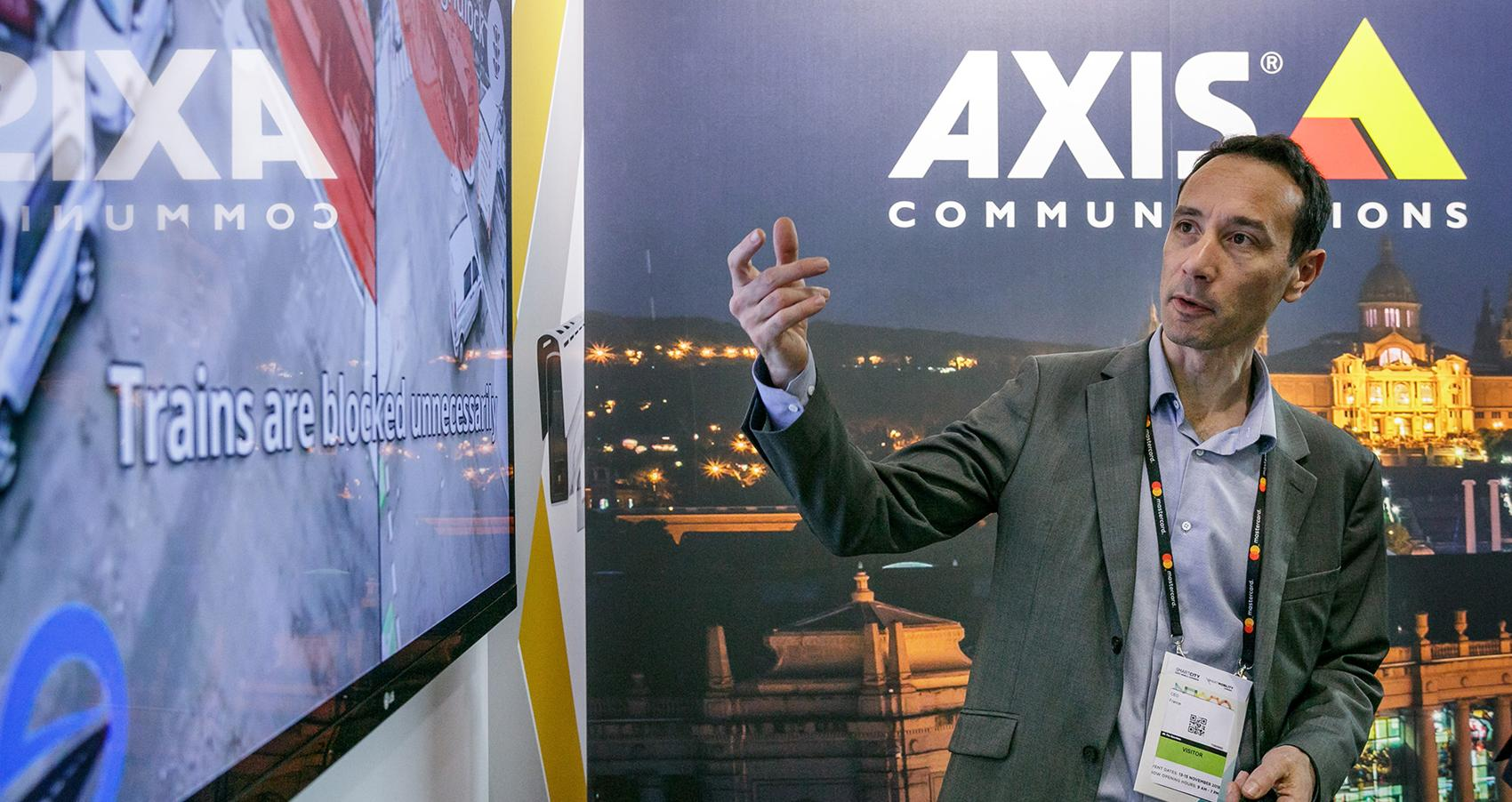 Axis to showcase latest smart city solutions at Smart City Expo World Congress 2019