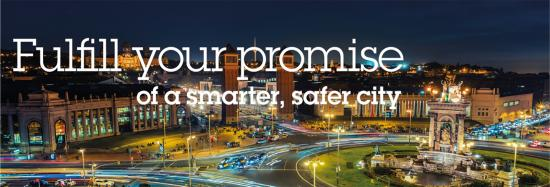 Find solutions for public safety and improved traffic flow at Smart City Expo World Congress, Barcelona, November 13-15 2018