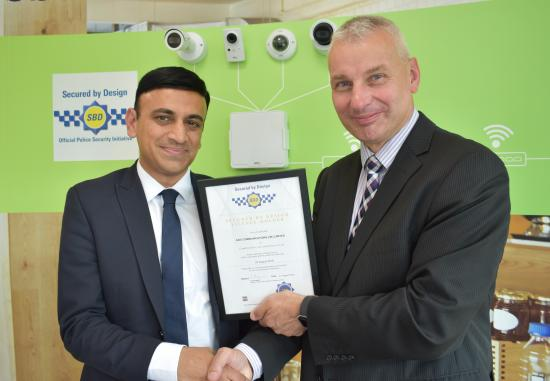 SBD accreditation awarded to Axis