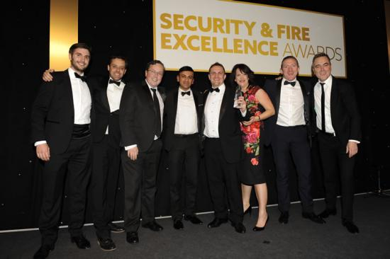 Axis wins gold at the Security and Fire Excellence Awards 2018