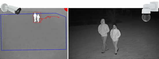 AXIS Perimeter Defender, now supports a pan-tilt-zoom (PTZ) autotracking application, enabling a fixed camera and a PTZ camera to work seamlessly together to provide an enhanced solution for perimeter protection