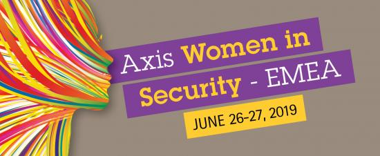 Axis Woman in Security - EMEA