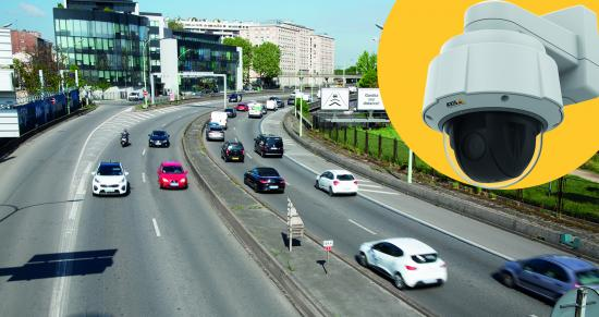 AXIS Q60 PTZ Network Camera Series met de nieuwste generatie Axis-chipset