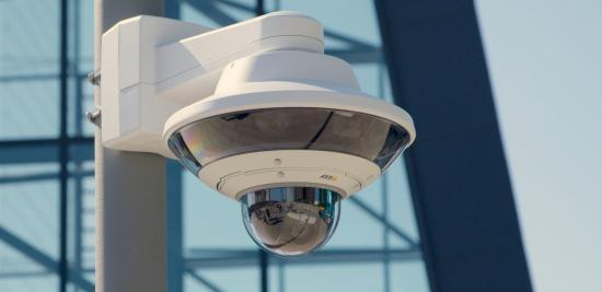 AXIS Q6010-E Network Camera, a high-resolution multidirectional camera