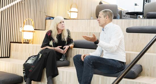 Malin Svensson and Ray Mauritsson in conversation