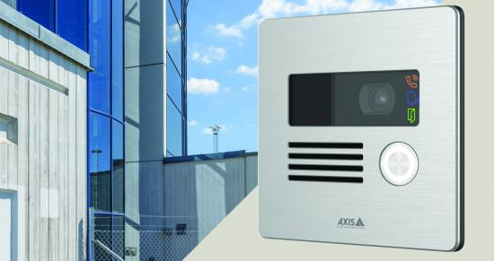 Compact, robust network intercom to complement any video surveillance system