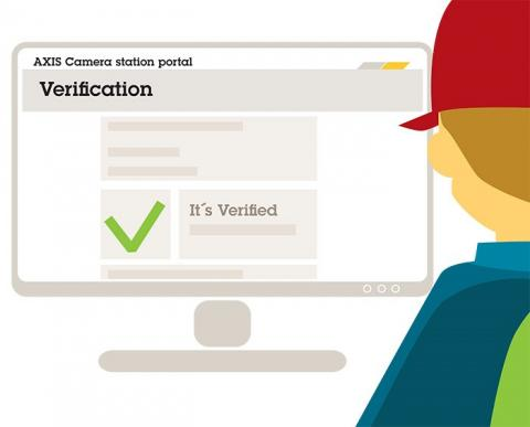 An integrated tool performs an on-site system verification to ensure everything is working properly.