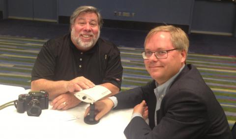 Steve Wozniak and Martin Gren