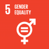 The 5th UN goal named gender equality