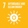 The 7th UN goal named affordable and clean energy