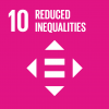 The 10th UN goal named reduced inequalities