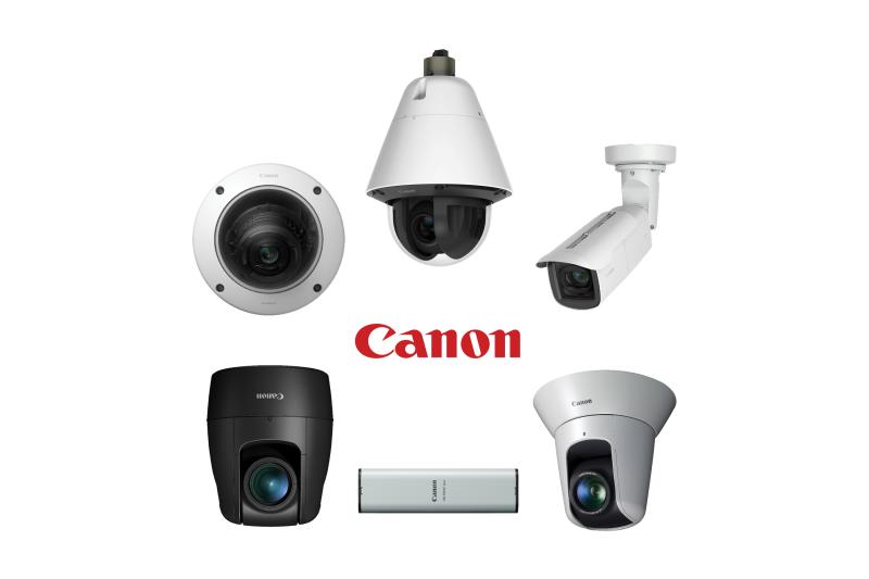 Collection of canon products