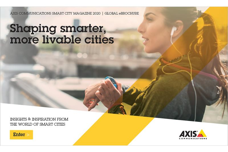 cover of e brochure smart cities