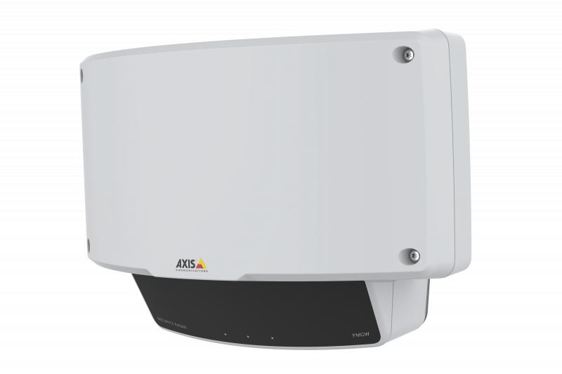 AXIS D2110-VE Security Radar, viewed from its left angle