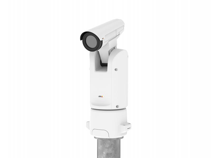 AXIS Q8641-E PT Thermal IP Camera on column