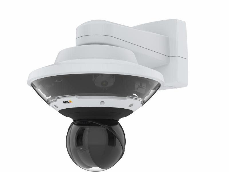 AXIS Q6100E - mounted on wall rigth