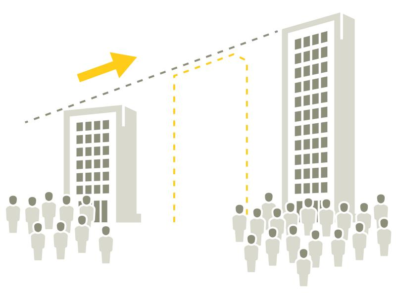 illustration showing scalability