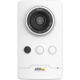 AXIS M1045-LW is a wireless HDTV 1080P IP camera with edge storage an IR Illumination.